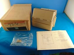 1972 Vintage Gm Nos Litter Container Complete With Instructions Logo Nice
