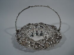 Dominick And Haff Basket - 2018 - Antique Art Nouveau - American Sterling Silver