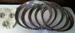 Nos New Old Stock Wheel Trim Rings Set 1948-1953 Chevy, 355 Plus Shipping