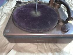 Vintage Webster Chicago Record Player Model 256-1a Non Working For Parts