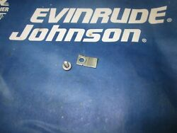 Johnson Evinrude 40 48 50 Hp 126582 306014 Timerbase Clamp And Screw 1993 To 2005