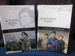 Gilbert Morris: Wounded Yankee and Yukon Queen Incl. Shipping