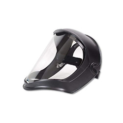 Bionic Face Shield With Clear Polycarbonate Visor And Anti-fog/hard Coat S8510