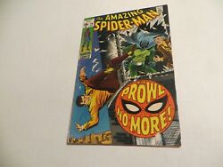 Marvel Comics Amazing Spider-man 79 15 Cent Cover. Prowl No More