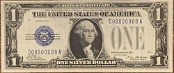Fr. 1600 Series 1928 1 Silver Certificate - Chinese New Year Good Luck 1 Note