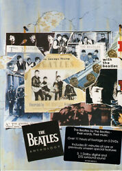 The Beatles Anthology 5 DVD Gift Box Set Brand New Free Shipping USA $32.95
