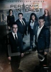 Person of Interest the Complete Series 27 DVD Box Set New Free Shipping USA $49.75