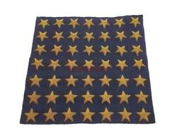 Original Russia Army Soviet Embroidered Naval 49 Stars Officer Navy Sailor Ussr