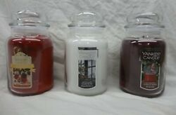 YANKEE CANDLE LARGE JAR 22 oz. YOU CHOOSE YOUR SCENT quot;quot;FREE SHIPPING#x27;#x27;#x27;