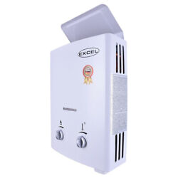 Excel 1.6 Gpm Tankless Gas Water Heater Low Pressure Startup Ventfree Lpg