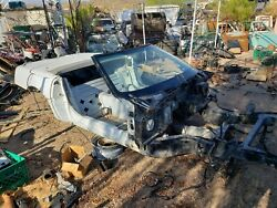 1992 C4 Corvette Convertible Frame Body Shell With Clear Arizona Title