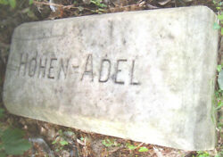 Rare-phila. Beer Item--hohen Adle Brewery Marble Hand Carved Stone--late 1800's