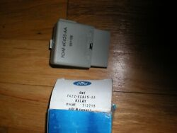 Nos 1996-1998 Ford Mustang 4.6l Low Oil Sensor Relay F6zz-6c625-aa