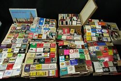 Extraordinary Matchbook Matchbox Collection Rare Vintage Travel Airline Railroad