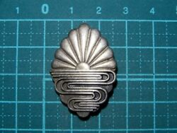 Imperial Japanese Army Air Force Sterling Silver Badge Military Antique Japan
