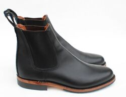 Red Wing Heritage 'williston' Chelsea Black Featherstone Leather Boots Sz 9.5