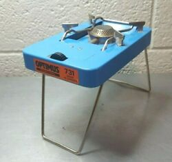 VINTAGE OPTIMUS 731 CAMP STOVE MOUSE TRAP BACKPACKING STOVE MADE IN SWEDEN $129.99
