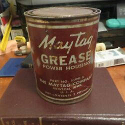 2 Lb. Vintage Maytag Grease Power Housing Can