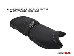Bmw R1200 Gs Lc Comfort Seat O.e.m. Motok Seat Cover White Logo And Stitching