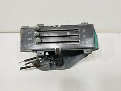 Vintage 1968 Chevrolet Impala Heater Ac Control Panel Fan Climate Parts Used