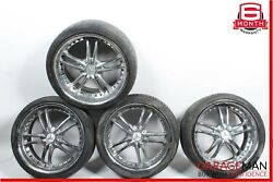 Mercedes S550 Cl550 Staggered R20 8.5x10 Wheel Tire Rim Set Of 4 Aftermarket