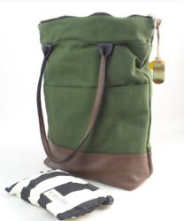 R.Riveter North South Canvas Tote Grant Olive $139.99