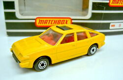 Matchbox Superfast No. 8d Rover 3500 In Yellow Extremly Rare, Mint
