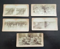 Philippines Islands, Lot Of 5 Stereoviews