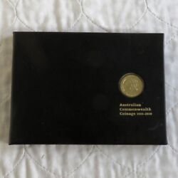 Australia 2010 Commonwealth Coinage Dollar And Overprint Stamp Set - Pack