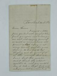 Letter Discussing Events During The Civil War Trout Creek, Ny 1863 Delaware Cty