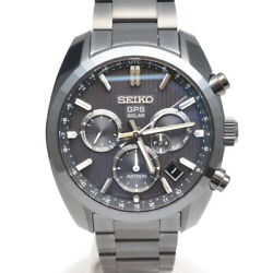 Free Shipping Pre-owned Seiko Sbxc023 5x53-0ak0 Astron 50th Anniversary Limited