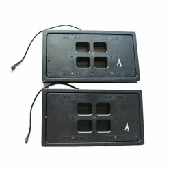 Canada Front And Rear Electric W/remote Hiden Flipper License Plate Flip Up Mount