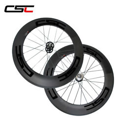 88mm Sapim Cx Ray Spokes Bike Track Wheels Fixed Gear Bicycle Carbon Wheelset