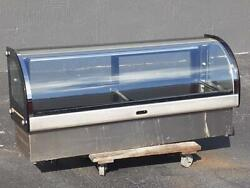 Hoshizaki Bench Top Cold Refrigerated Cake Sushi Display Show Case Hnc-180ba-l-s