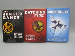 Lot Of 3 Hunger Games Trilogy By Suzanne Collins Nos 1st Ed Book Bk1563