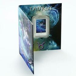 Niue 2 Dollars Zodiac Signs Series Taurus Colored Proof Silver Coin 2012