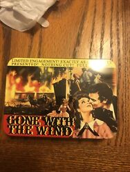 Gone With The Wind 2 Decks Playing Cards Plastic Sealed In Tin - By Xonex 2004.