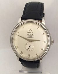 Vintage Stainless Steel Omega De Ville Prestige Co-axial Menand039s Watch