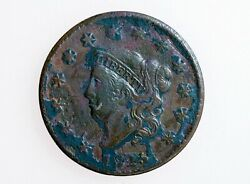 1825 Coronet Liberty Head Large Cent Matron Early Copper Penny 1c Low Mintage