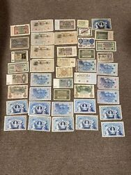 Antique German Banknote Collection Lot Old Money Currency Bargain