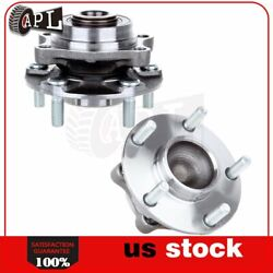 Pair Of 2 Front Left Or Right Wheel Hub Bearing Assembly Fits 350z G35 5 Lugs