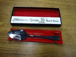 Reed And Barton Master Mustache Spoon Original Box/security Blanket Silver Plate
