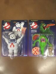 The Real Ghostbusters 2020 Kenner Retro Walmart Exclusive Slimer And Stay Puft New