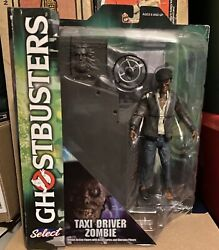 Diamond Selects Ghostbusters Taxi Driver Zombie Figure Diorama New