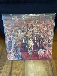 Autographed By All 5 Rolling Stones Itand039s Only Rockand039n Roll Signed Vinyl Record