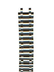 Swiss Army Brand Manand039s 21mm Silver Tone Stainless Steel Watch Band Vic-001180