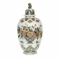 Royal Delft Wide Jar With Lid The Original Blue Collection