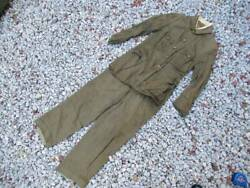 Imperial Japanese Army Military Uniform Trousers Pants Jacket Antique Japan