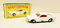 Vintage Matchbox Lesney Ford Mustang No.8 With Box