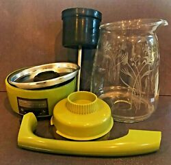 Scm Proctor-silex 70702 Electric Glass Coffee Percolator 12cup Replacement Parts